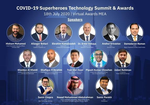 Covid-19 Superhero Technology Summit and Awards MEA