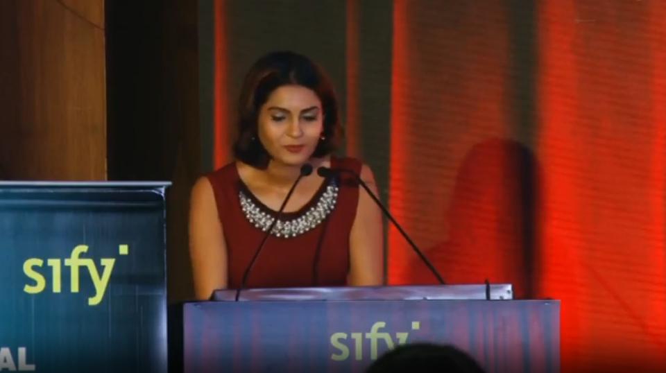 Keynote Address by Ms. Shaheen Meeran CIO200 Tech Summit & Awards