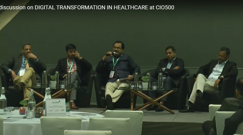 Discussion on Digital Transformation in Healthcare at CIO500