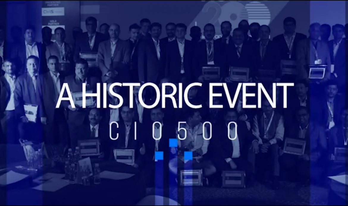 A vote of thanks to all the CIOs