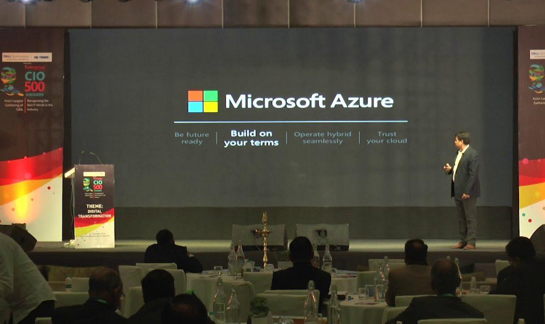 Keynote Address by Jatinder Singh, Director of Customer Success, Microsoft
