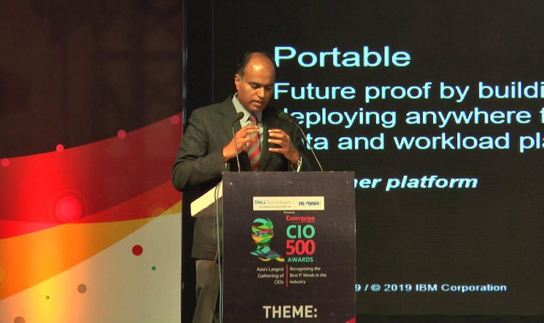 Keynote Address by Aju Sebastian, IBM Cloud Platform Leader, IBM ISA