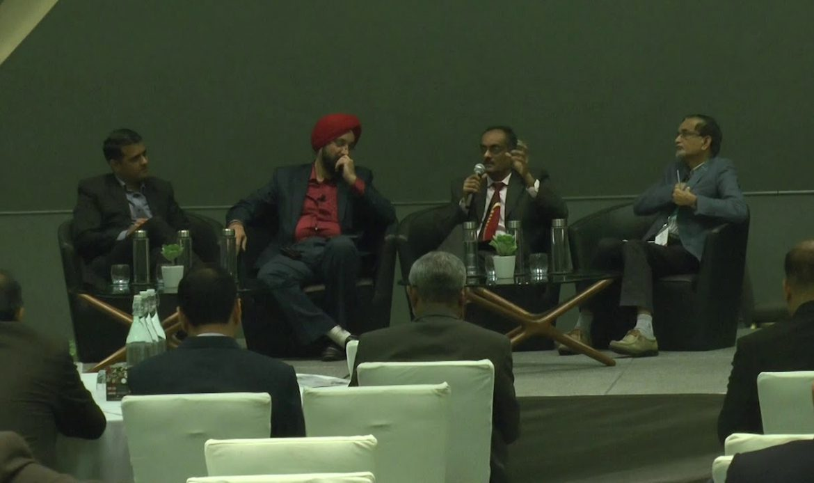 Panel discussion on DIGITAL TRANSFORMATION IN BFSI at CIO500