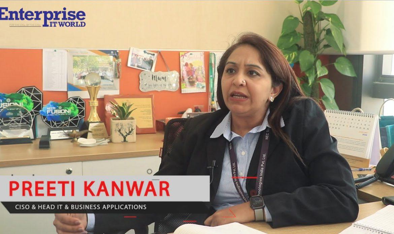 Preeti Kanwar, CISO & Head – IT & Business Applications