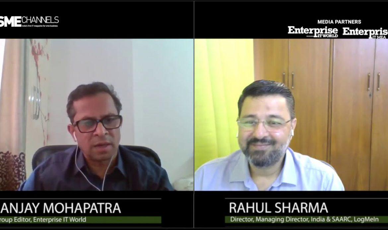 Rahul Sharma, Managing Director, India & SAARC, LogMeIn