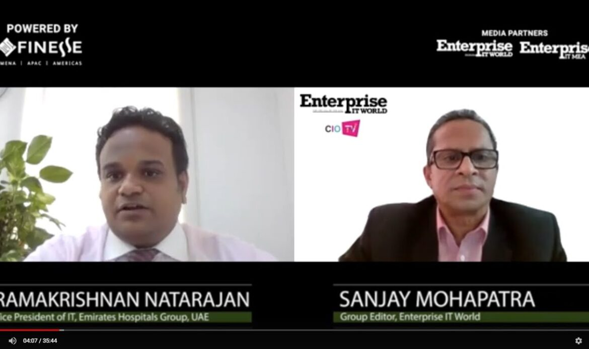 Ramakrishnan Natarajan, Vice President – IT, Emirates Hospitals Group
