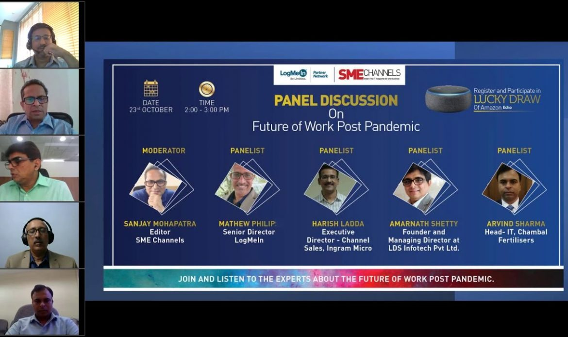 Panel Discussion on Future of Work- Post Pandemic