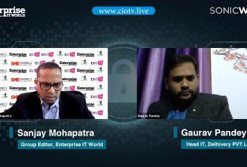 Gaurav Pandey, Head IT, Delhivery