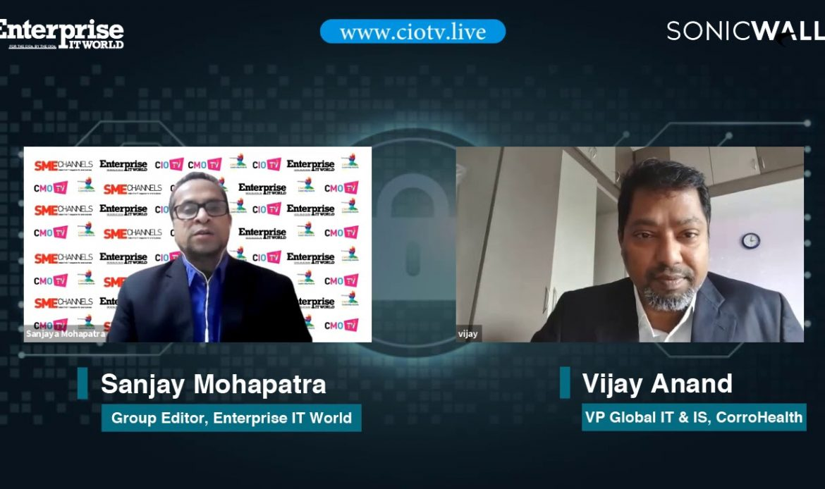 Vijay Anand, VP Global IT & IS, CorroHealth