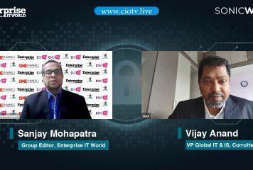 Vijay Anand, VP Global IT & IS, CorroHealth