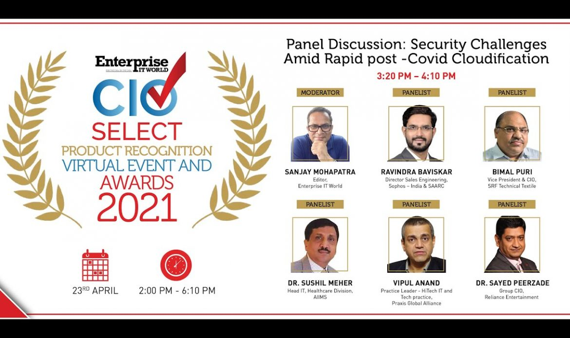 Panel Discussion on Covid-19 Cloudification and cybersecurity challenges