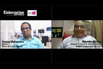 Bijender Mishra, Global IT Head & Global CISO, ALKEM LABORATORIES LTD.